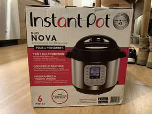 Instant Pot Pressure Cooker with Warranty for Sale in Phoenix, AZ