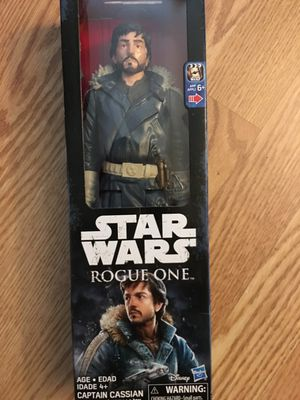 New Star Wars Captain Cassian 12 Inch Action Figure for Sale in Orlando, FL