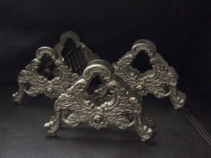 2 antique napkin holders and 1 knife holder for Sale in Tacoma, WA