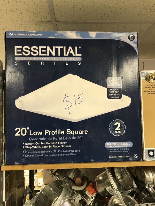 "20"" Low Profile Square Half Price Goods Warehouse Deals 70%OFF"