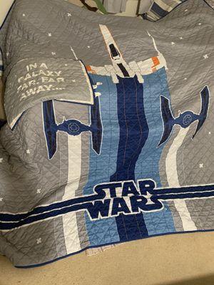 Star Wars bedding. Full size $35 for Sale in Tustin, CA