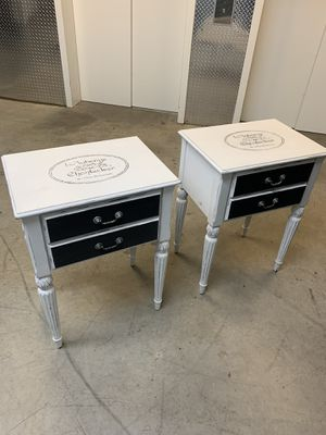 Shabby Chic French Antique Night Stands for Sale in Washington, DC