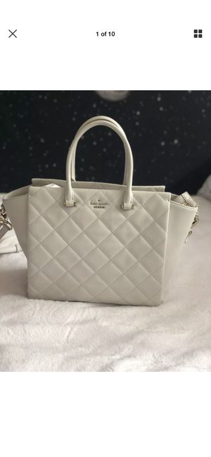 Kate spade cream tote leather for Sale in Oakley, CA