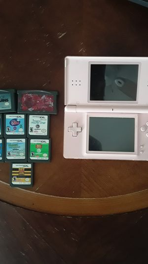 Nintendo DS with games for Sale in Desert Hot Springs, CA