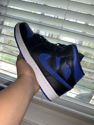 Jordan 1 Mid Royal (Size 9.5) *look in description* (DS) for Sale in Fairfax, VA