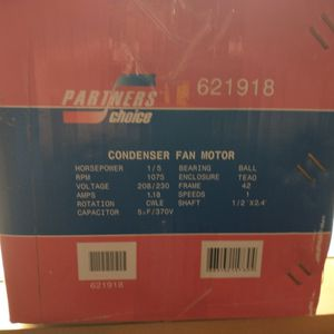 Condenser Fan Motor with Capacitor for Sale in Tampa, FL
