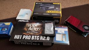 Parts for computer built for Sale in Alexandria, VA