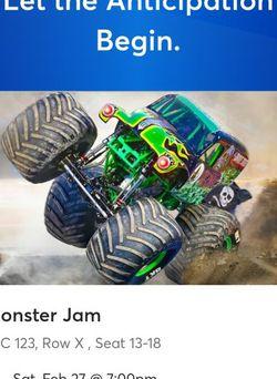 Monster Jam Tickets for Sale in Orlando,  FL