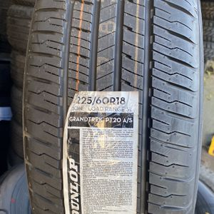 225/60/18 Dunlop Tires (4 For $350) for Sale in Whittier, CA