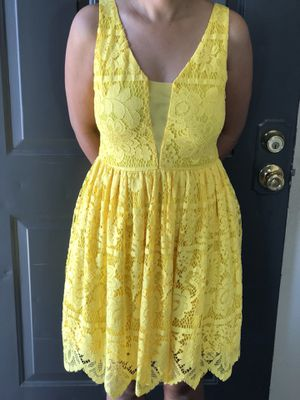 Brand New Beautiful Yellow Dress from GB for Sale in Irving, TX