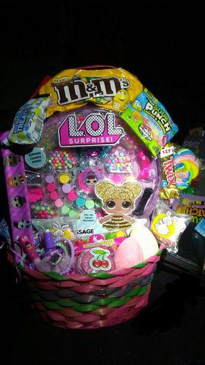 Lol Surprise Easter basket for Sale in Pomona, CA