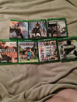 Xbox One Games For Sale for Sale in Vancouver,  WA