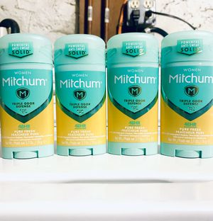 WOMANS MITCHUM SOLID DEODORANTS 💥 for Sale in New Britain, CT