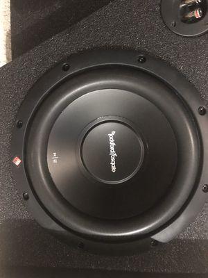 "Speakers. Rockford Fosgate R/2 10"". for Sale in Port St. Lucie, FL"