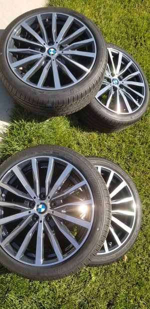 BMW RIMS AND TIRES for Sale in Lathrop, CA