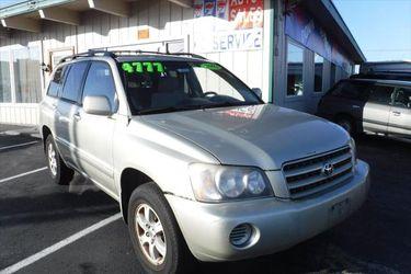 2002 Toyota Highlander for Sale in Tacoma,  WA