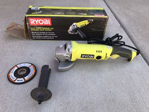 RYOBI 7.5 Amp 4.5 in. Corded Angle Grinder for Sale in Phoenix, AZ