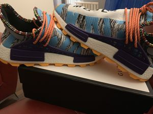 "Adidas Pharrell Williams Solar HU NMD 'Solar Pack ""M1L3L3"" for Sale in Lawrenceville, GA"