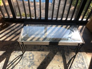 Glass patio table for Sale in Signal Mountain, TN