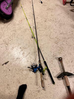 2 fishing rods for Sale in Davie, FL