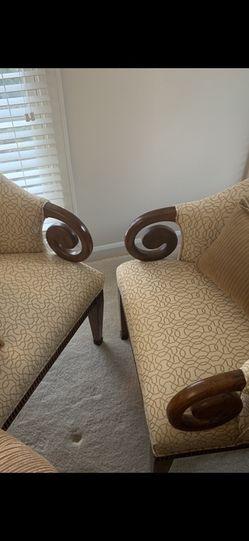 Fabric Chairs Antique for Sale in Aldie,  VA