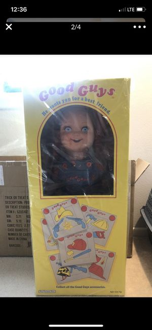 Chucky Good Guys Doll Trick or Treat Studios New for Sale in Irvine, CA
