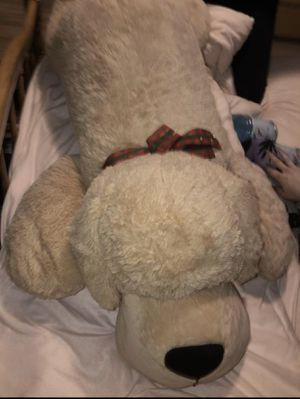 Valentine's Day giant huge teddy bear puppy dog stuffed animal for Sale in Fresno, CA