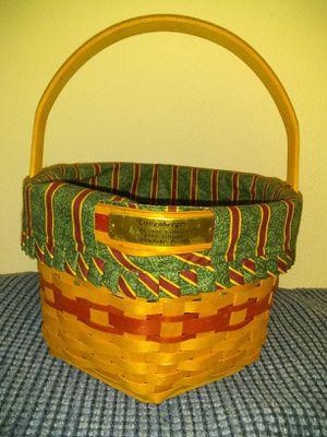 Longaberger 1997 edition snowflake basket for Sale in Crookston, MN