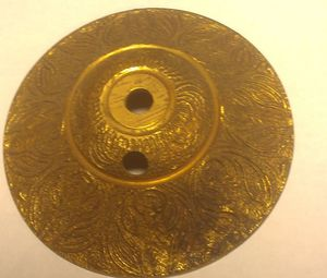 Brass escutcheon Antique brass lamp for ceiling hanging lamp Spain spirit or flame for Sale in San Diego, CA