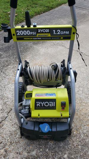 Ryobi 2000 psi electric pressure washer for Sale in Baton Rouge, LA