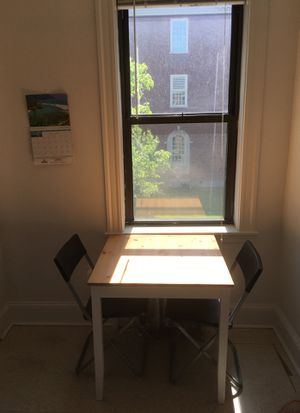 Solid Wood Dining Table or Nook for Sale in Cambridge, MA