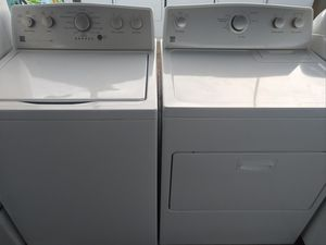 """""""KENMORE"""" MATCHING SET WASHER & ELECTRIC DRYER ULTRA KING SIZE CAPACITY for Sale in Phoenix, AZ"""