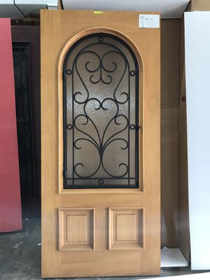 Doors. Brand new solid mahogany 36x80 $530 for Sale in Miami, FL