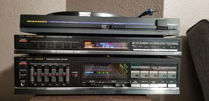 Vintage Audio (Marantz/Fisher) for Sale in Sun City, TX