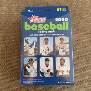 Mlb Baseball Cards Topps Heritage 2020 Hanger for Sale in Fresno, CA