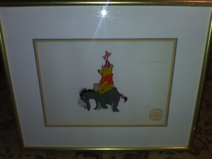 Winnie the Pooh Serigraph Cel for Sale in Tacoma, WA