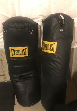 Everlast punching bags for Sale in Buffalo, NY