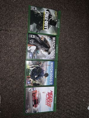 4 Xbox one games for Sale in Canton, OH