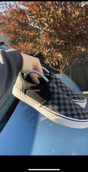 Checkered Vans SIZE 8.5 for Sale in San Lorenzo, CA