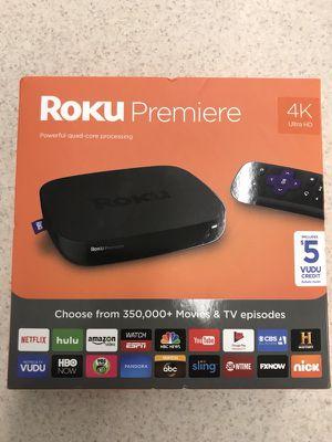 Roku Premiere with 4K JB for Sale in Murfreesboro, TN