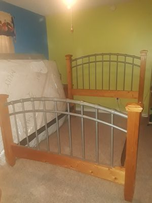 full bed frame...no mattress for Sale in Willow Spring, NC