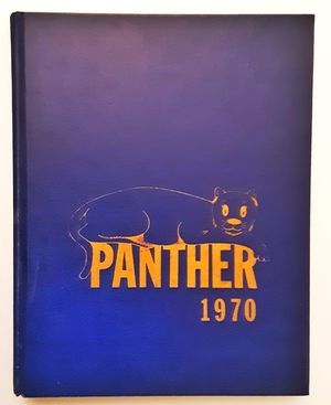 Shields middle school panther 1970 yearbook shields Michigan swan valley saginaw yearbook for Sale in Saginaw, MI