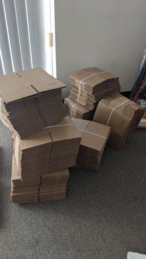 """NEW 6 x 4 x 4"""" ULINE Small Corrugated Cardboard Boxes - 125 Pieces for Sale in Chino, CA"""