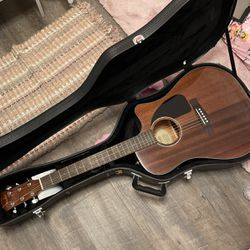 fender guitar with case and picks for Sale in Miami,  FL