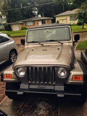 jeep wrangler SE 2004 (TJ) Automatic for Sale in Orlando, FL