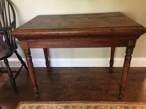 Antique primitive table for Sale in Bartonville, TX