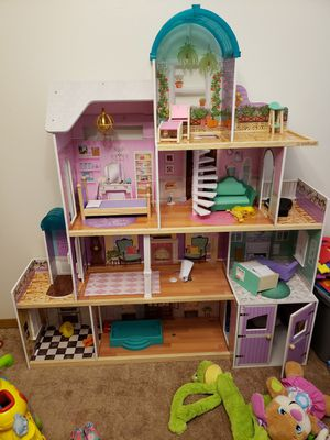 Wooden doll house for Sale in Anchorage, AK