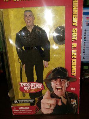 Gunnery Sgt. R. Lee Ermey Action Figure for Sale in Phoenix, AZ