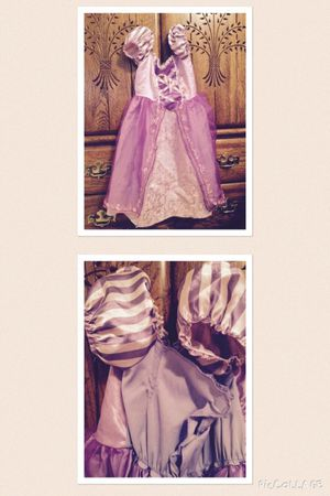 Rapunzel costume 4-6x-great for Halloween! for Sale in Irwin, PA