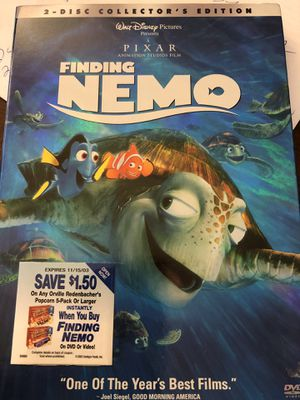 Finding Nemo 2 disc collection for Sale in Overland Park, KS